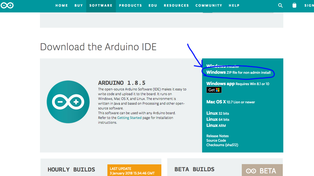 Picture of Installer Le Programme Arduino (2/3)