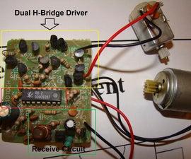 Fastest way to Hack RC Car H-Bridge