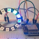 A Different Type of Watch Using RGB Led Ring