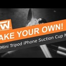 Mini Tripod iPhone Suction Cup Mount - Thrifty Tip