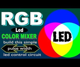 RGB Led Color Mixer