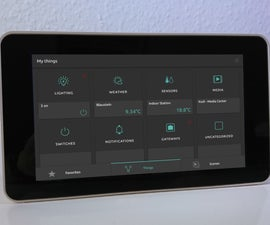 Open Source Smart Home With Touchscreen Control Panel