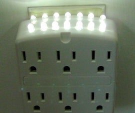 Using AC With LEDs (Part 2) - and Make This Handy Counter Light.