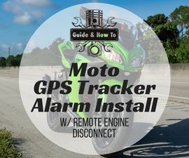 DIY: Motorcycle GPS Tracker Alarm Install With Remote Engine Disconnect