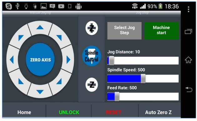 Picture of Android CNC Control With GRBL