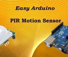 Control Light Room With Arduino and PIR Motion Sensor