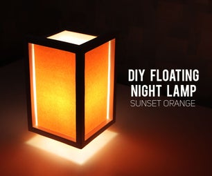"DIY ""Floating"" Night Lamp"