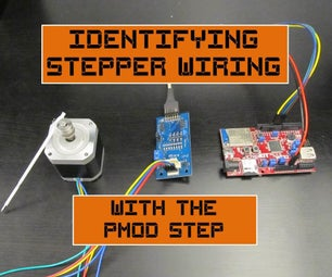 Identifying Stepper Wiring With the Pmod STEP