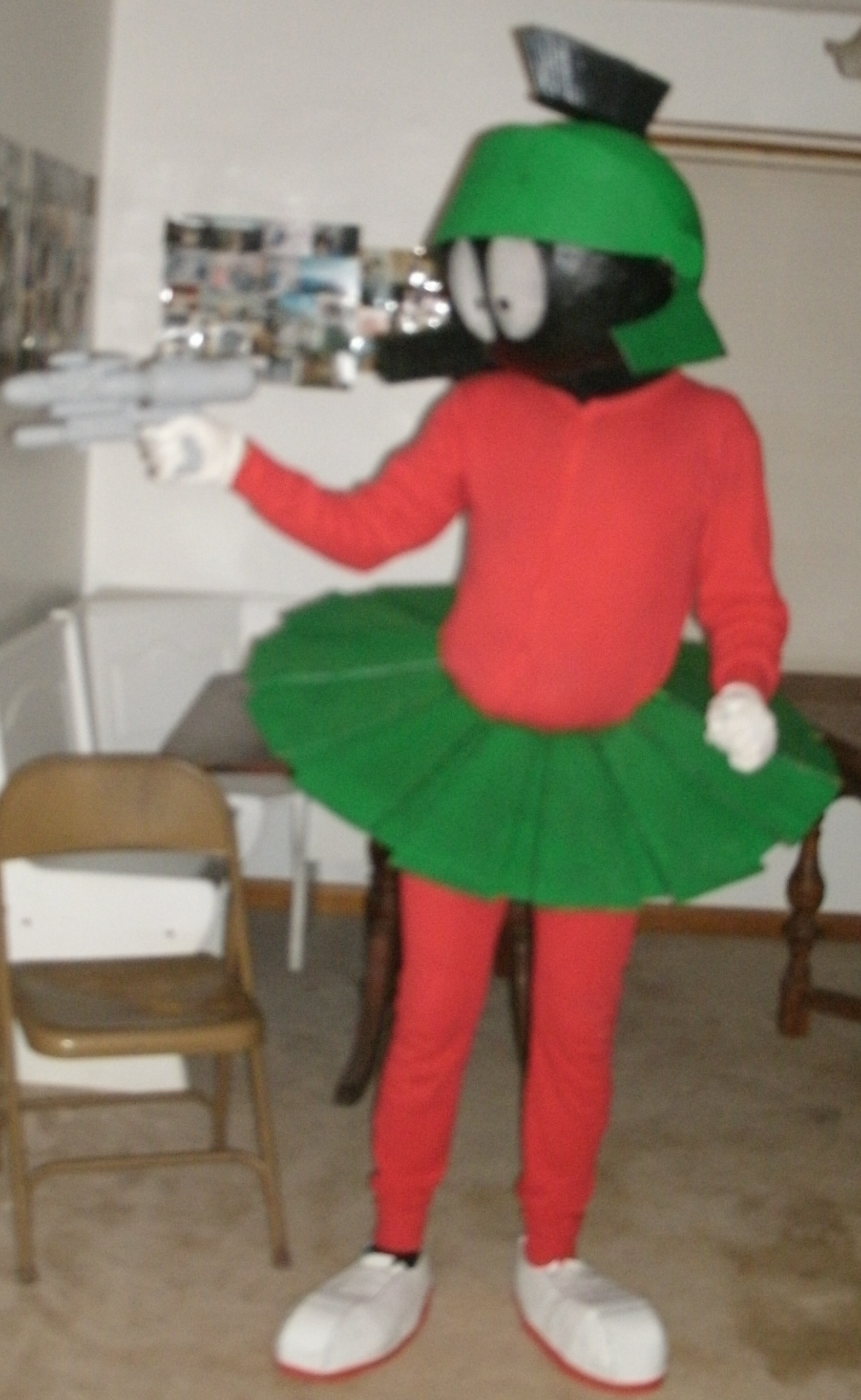 Picture of Marvin the Martian Costume (finally!)