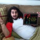 Bob Marley Birthday Present Using the Vinyl Cutter