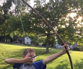 Homemade Bow And Arrow