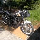1993 EX500 Race Bike - Complete Rebuild