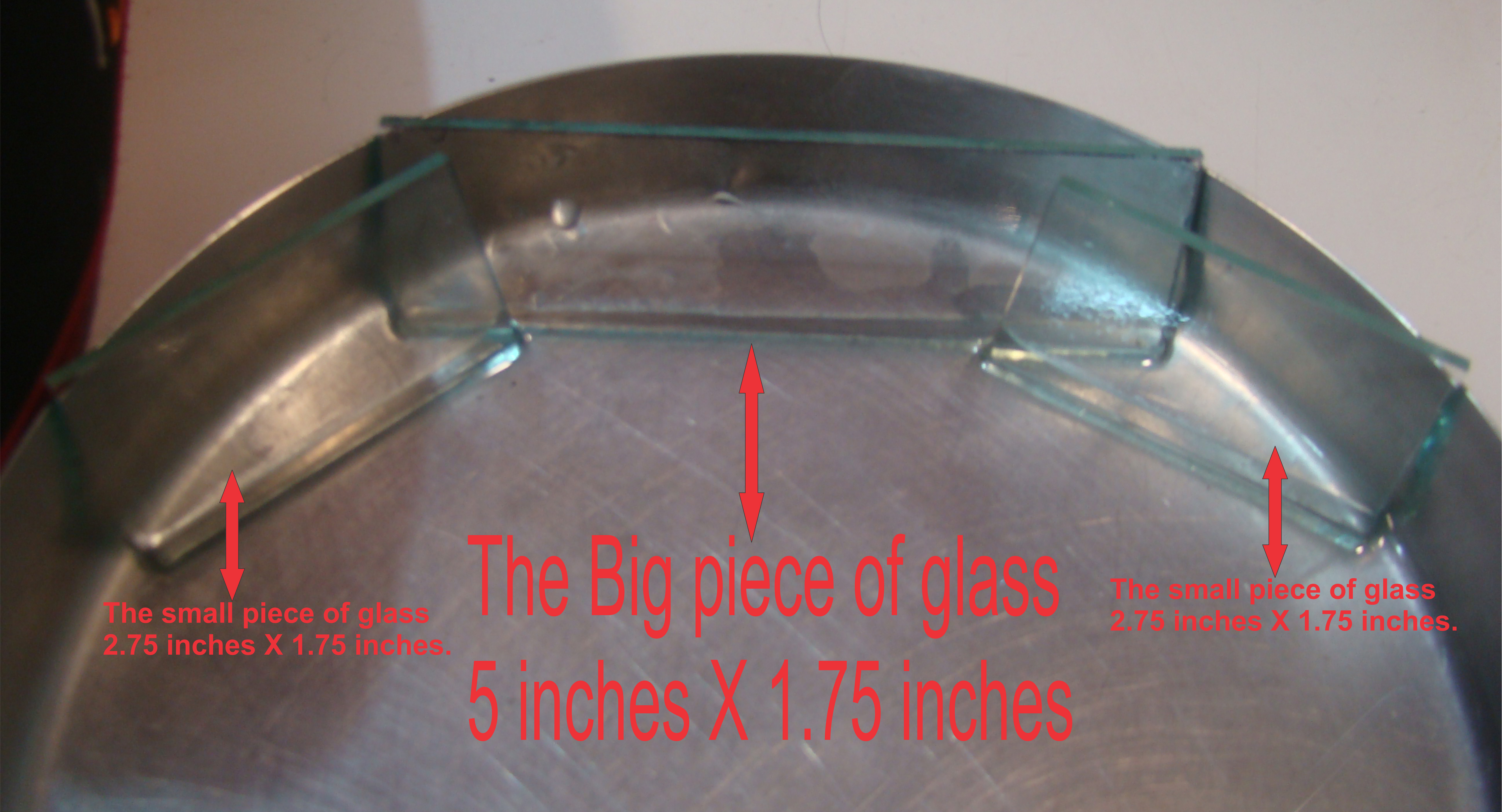 Picture of Next You Need 3 Pieces of Ordinary Clear Glass :