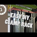 Easy DIY Clamp Rack