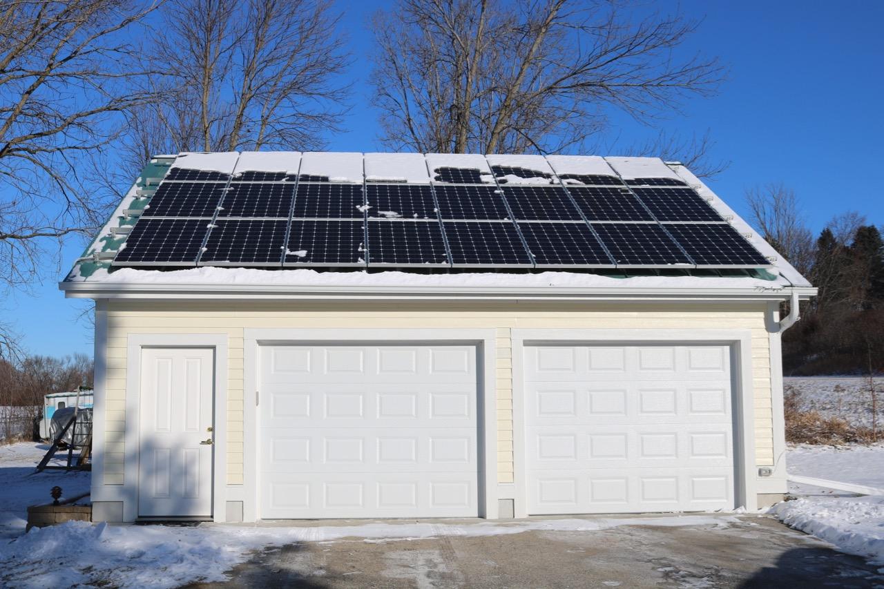 Picture of DIY Solar Garage