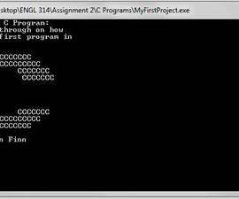 Your First Program in C