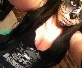 Mexican Día de Muertos Makeup