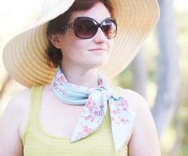 Cooling Scarf: Look good and stay cool