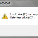 VBS file (C:) Drive prank! Corrupted (C:) drive