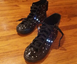 Interactive LED Shoes - Arduino