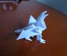 Gryphon origami