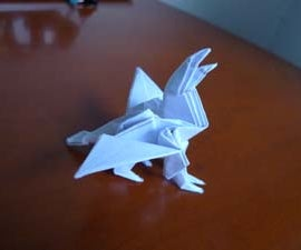 Gryphon origami