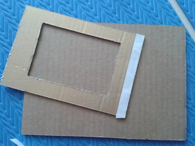 3R Photo Frame Step 3: Paste With Double Sided Tape