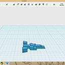 How to make an easy toy spaceship using 123d design