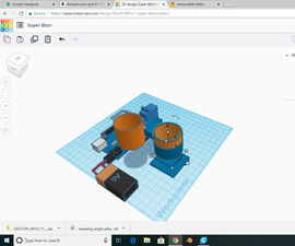 Modelling a Self Watering Planter in Tinkercad.