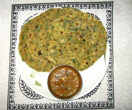 Chapatti  With Fenugreek Leaves