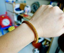 Pine Fall Leaf Bracelet