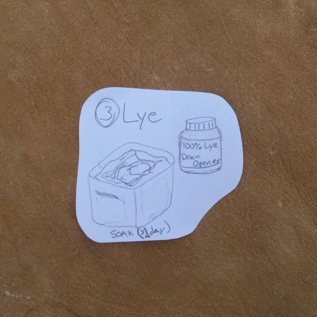 Picture of Lye Soak