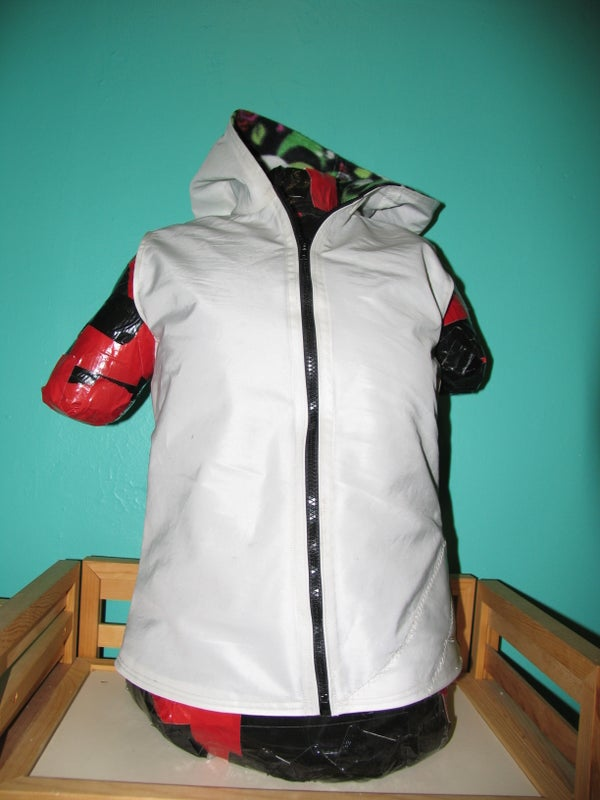 Make a Pattern and Sew a Hooded Vest