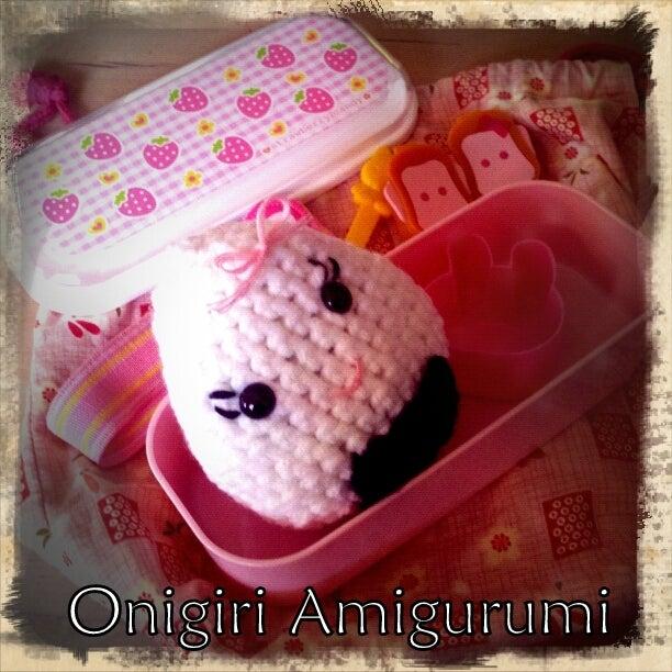Amigurumi Food: Onigiri Amigurumi Free pattern | 612x612