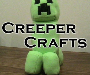 20 Minecraft Creeper Projects