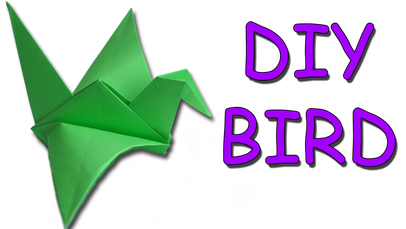 Picture of DIY - Origami Traditional Flapping Bird
