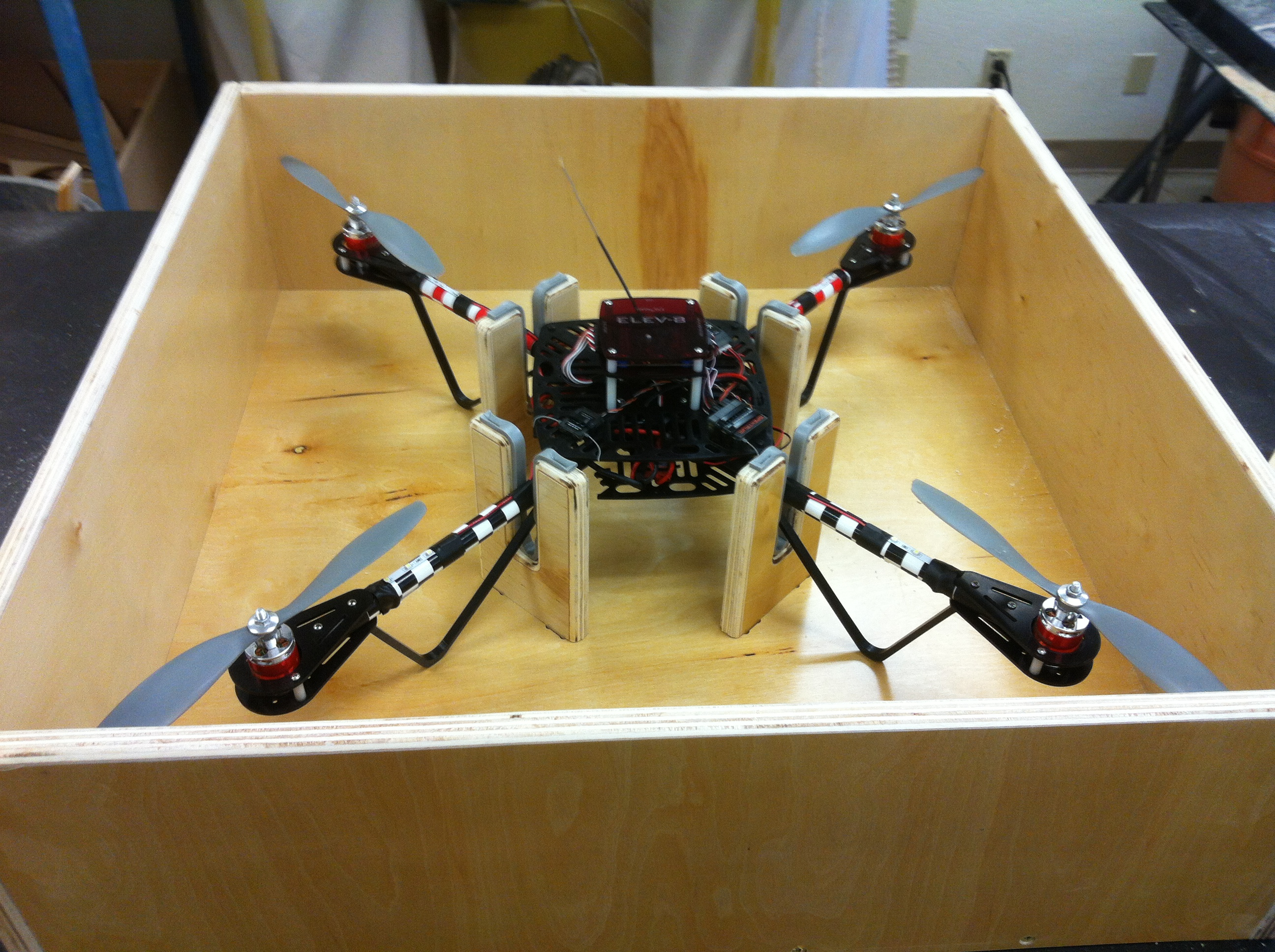 Picture of How to Build a Storage/transportation Box for Your Quadcopter.