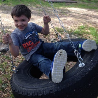 How to Make a Tire Swing!