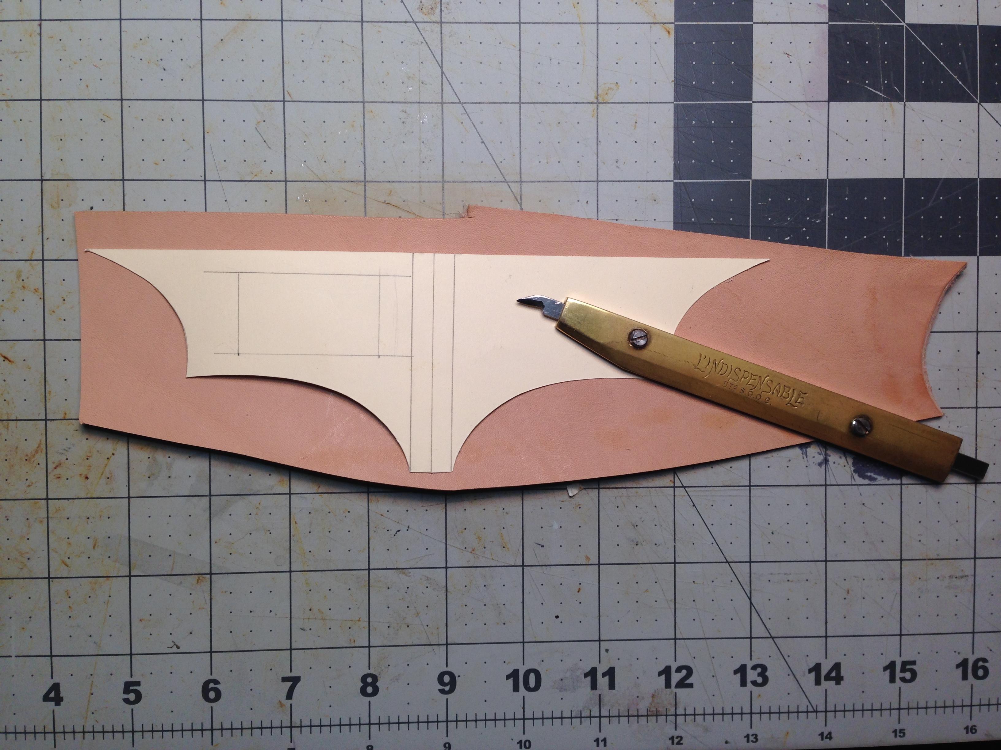 Picture of Batman Bill Clip Making Process Part1