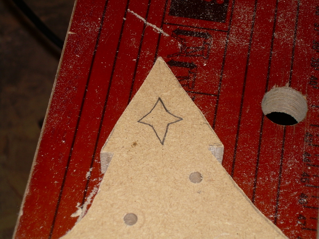 Picture of Draw on a Star Shape