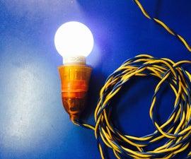 Portable Bulb Holder