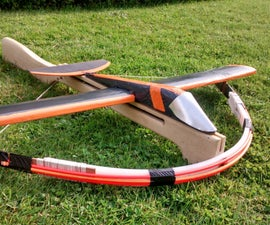 Crossbow powered glider