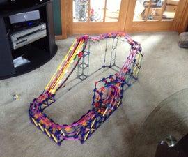 Knex Ball Coaster - Looper