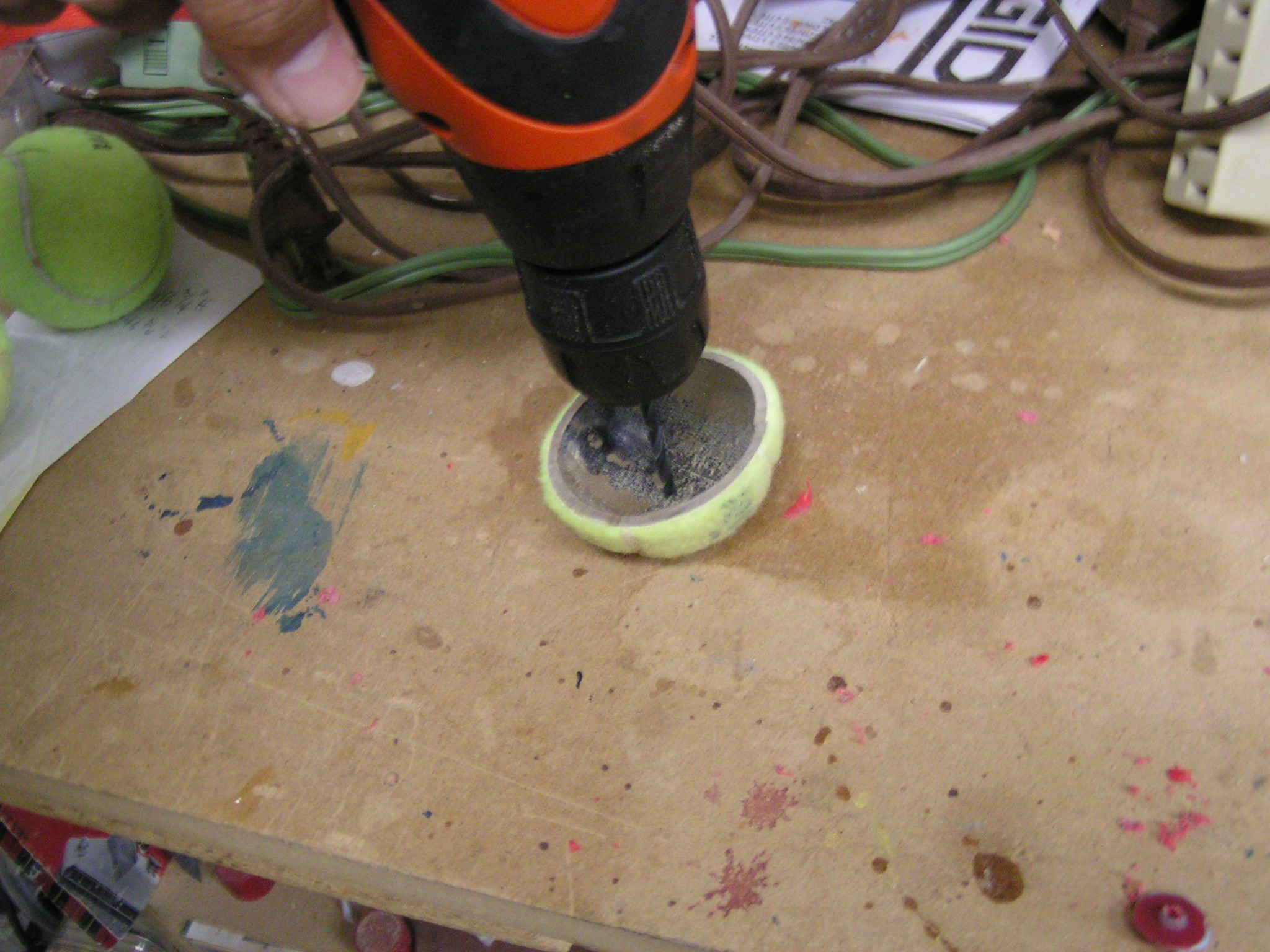 Picture of Drill Holes in Everything!