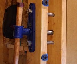 Cabinet Maker's Vise Installation