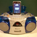 Boom Box Ipod Dock / Homemade iHome