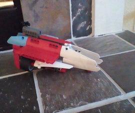 Lego technic octan spaceship from The Lego Movie