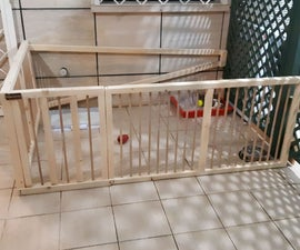 Dog Wooden Fence