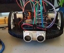 Wemos D1 Mini WIFI Robot (MQTT & UDP)