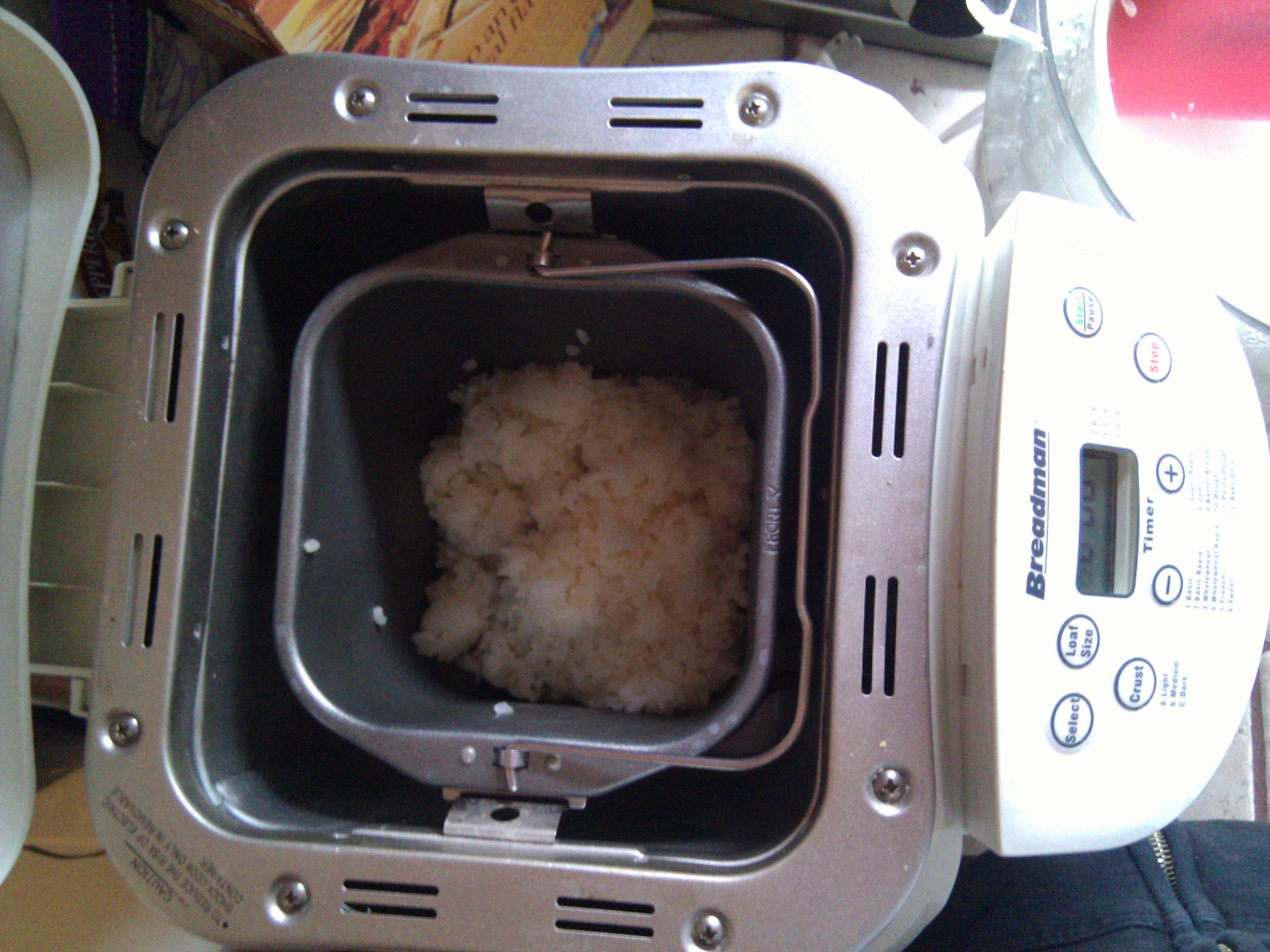 Picture of Cook and Knead the Mochi Rice